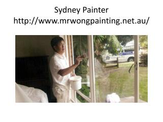 Sydney Painter - Painting Services Sydney