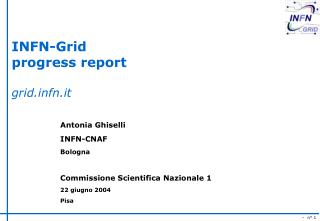 INFN-Grid progress report gridfn.it