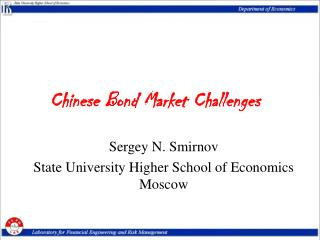 Chinese Bond Market Challenges