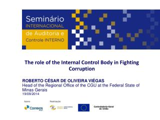The  role  of the Internal Control Body  in  Fighting Corruption