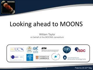 Looking ahead to MOONS