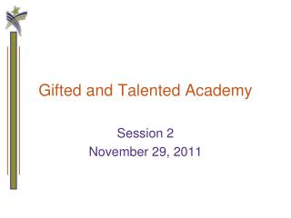 Gifted and Talented Academy