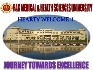 RAK MEDICAL & HEALTH SCIENCES UNIVERSITY
