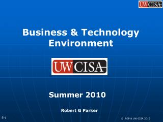Business & Technology Environment