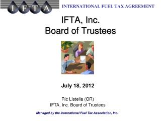 IFTA, Inc. Board of Trustees