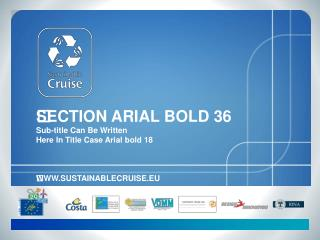 SECTION ARIAL BOLD 36 Sub-title Can Be Written  Here In Title Case Arial bold 18