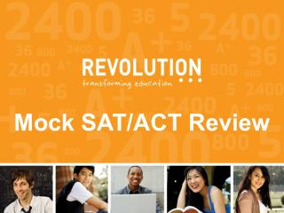 Mock SAT Review