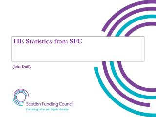 HE Statistics from SFC