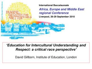 International Baccalaureate Africa, Europe and Middle East regional Conference