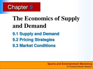 The Economics of Supply and Demand