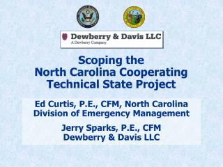 Scoping the North Carolina Cooperating Technical State Project