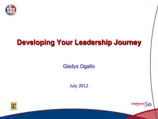 Developing Your Leadership Journey
