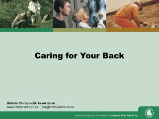 Caring for Your Back