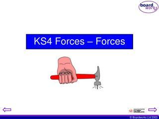 KS4 Forces – Forces