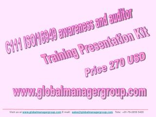 ISO/TS 16949 Awareness And Auditor Training