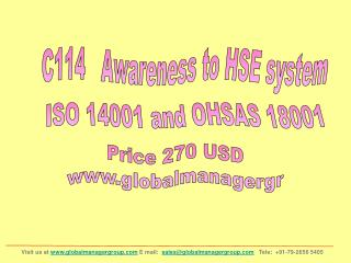 HSE Awareness Training