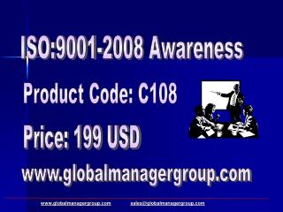 ISO 9001 2008 QMS Internal Auditor Training