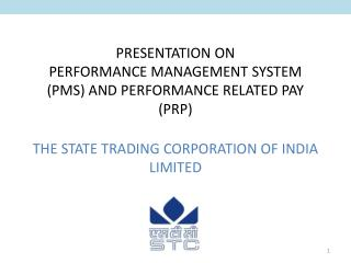 The State Trading Corporation of India Ltd
