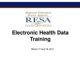 Electronic Health Data Training