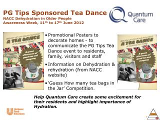 NACC National Dehydration Awareness Week  11 th -17 th  June 2012