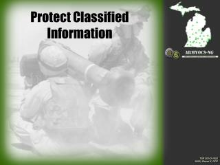 Protect Classified Information