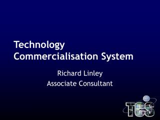 Technology Commercialisation System