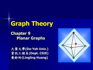 Graph Theory Chapter 9 Planar Graphs