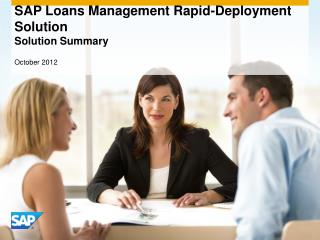 SAP Loans Management Rapid-Deployment Solution  Solution Summary
