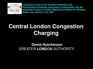 Central London Congestion Charging