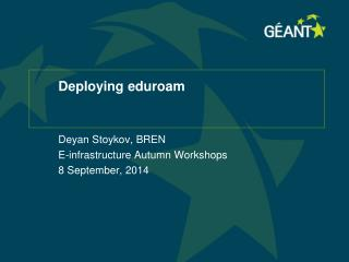 Deploying eduroam