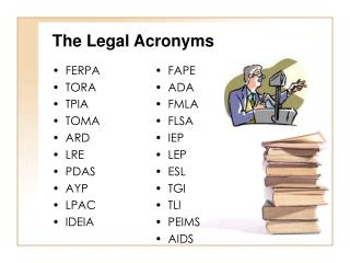The Legal Acronyms