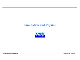 Simulation and Physics