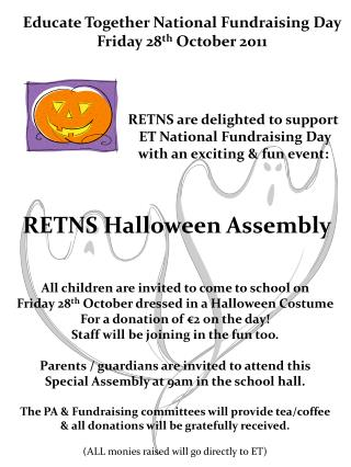 RETNS Halloween Assembly