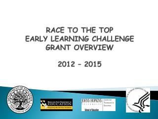 RACE TO THE TOP EARLY LEARNING CHALLENGE  GRANT OVERVIEW  2012 – 2015