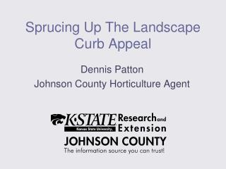 Sprucing Up The Landscape Curb Appeal