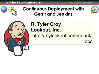 Continuous Deployment with Gerrit and Jenkins