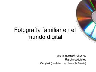 Archiv fotog digitales