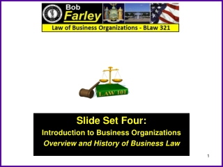 OVERVIEW OF BUSINESS ORGANIZATIONS
