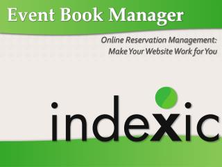 Event Book Manager