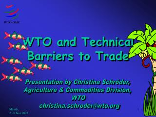 WTO and Technical Barriers to Trade