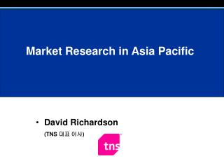Market Research in Asia Pacific
