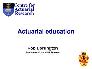 Actuarial education