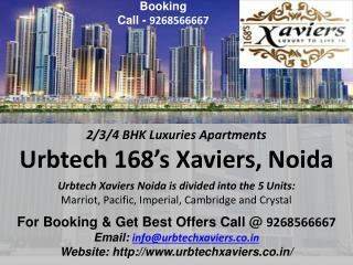 Xaviers 2/3/4 BHK Flats in Noida Call 9268566667