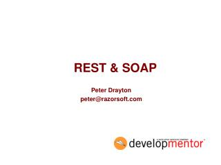 REST & SOAP