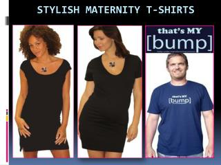 Stylish Maternity T-shirt