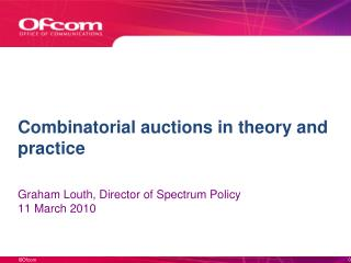 Combinatorial auctions in theory and practice
