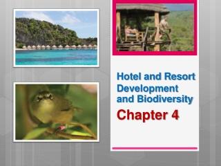 Hotel and Resort Development and Biodiversity