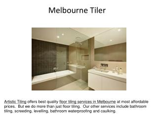 Floor tiling service in Melbourne