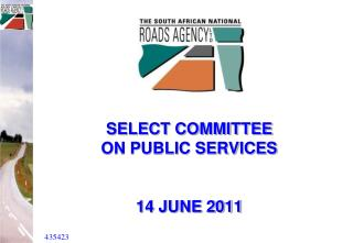 SELECT COMMITTEE  ON PUBLIC SERVICES 14 JUNE 2011
