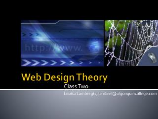 Web Design Theory